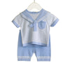 Knitted Baby Sailor Suit - Eat Play Love
