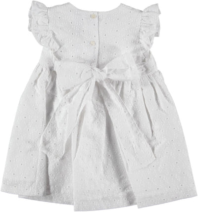 Paloma Dress Broderie - Eat Play Love