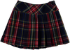 Tartan Pleated Skirt - Eat Play Love