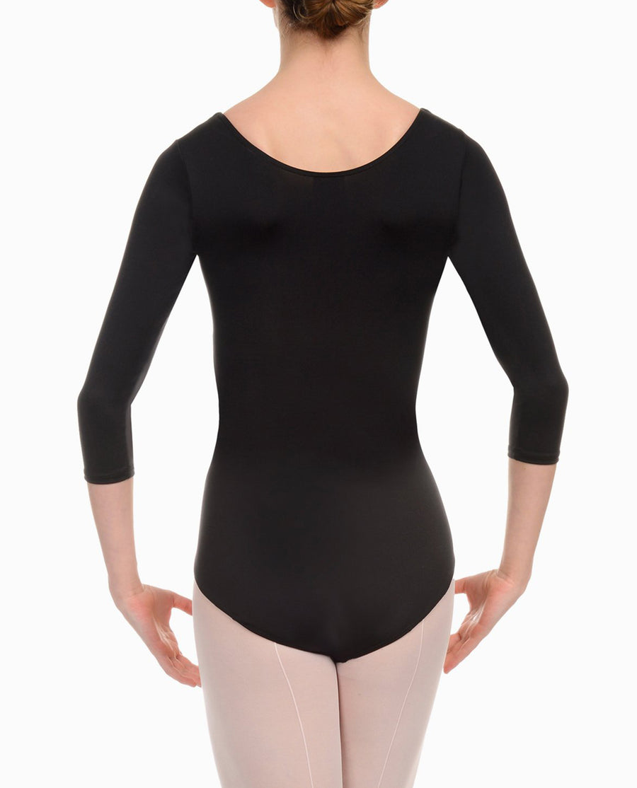 Three Quarter Sleeve Leotard