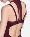 Illusion Neckline Strappy Leotard