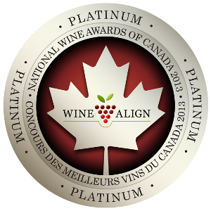 #1 chardonnay in Canada and #1 white wine in BC!