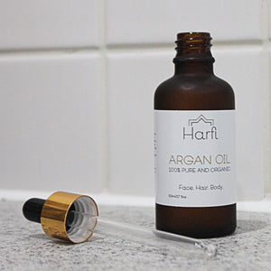 Argan - 100% pure and organic argan oil for the face, hair, body and nails
