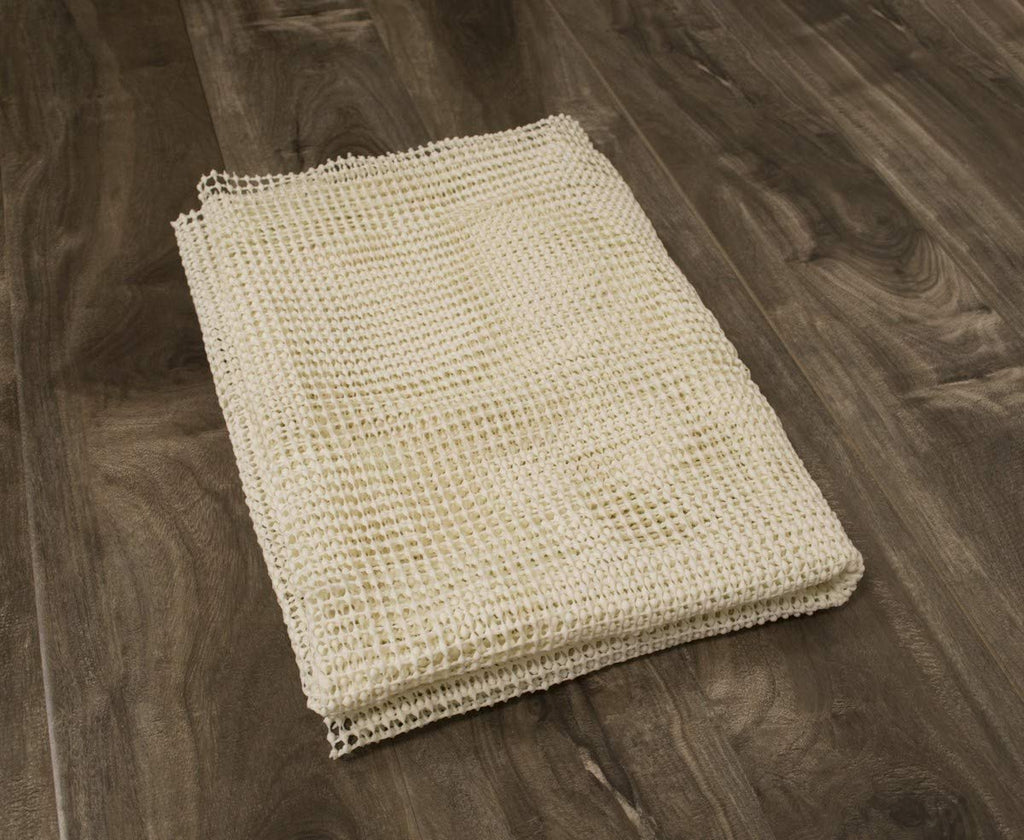 Area Rug Gripper Pad Hard Floor, Size-Color Variation Provides Protection/Cushion