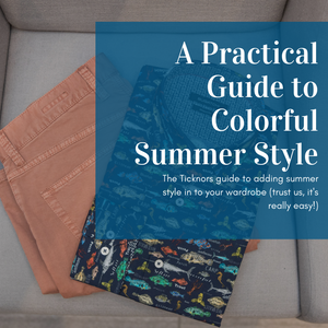 A Practical Guide to Colorful Summer Style