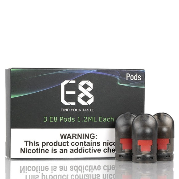 VapeAnts E8 Replacement Pod 3pcs