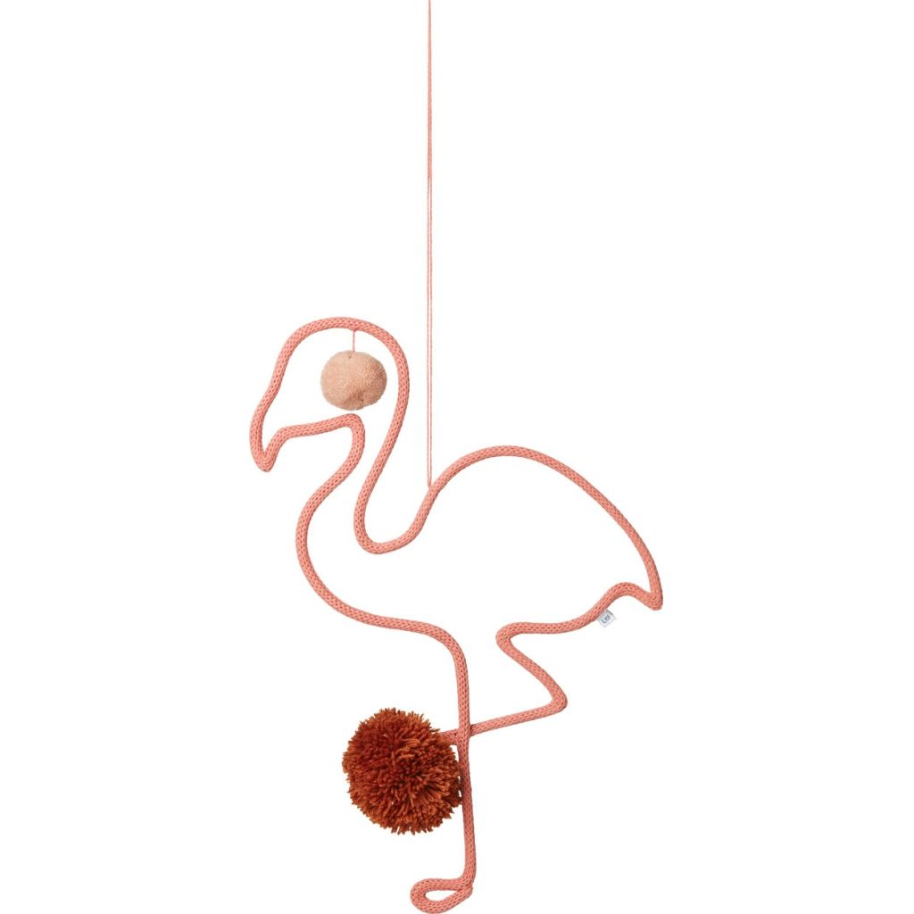 Liewood-Odin mobile-Flamingo Coral Rose