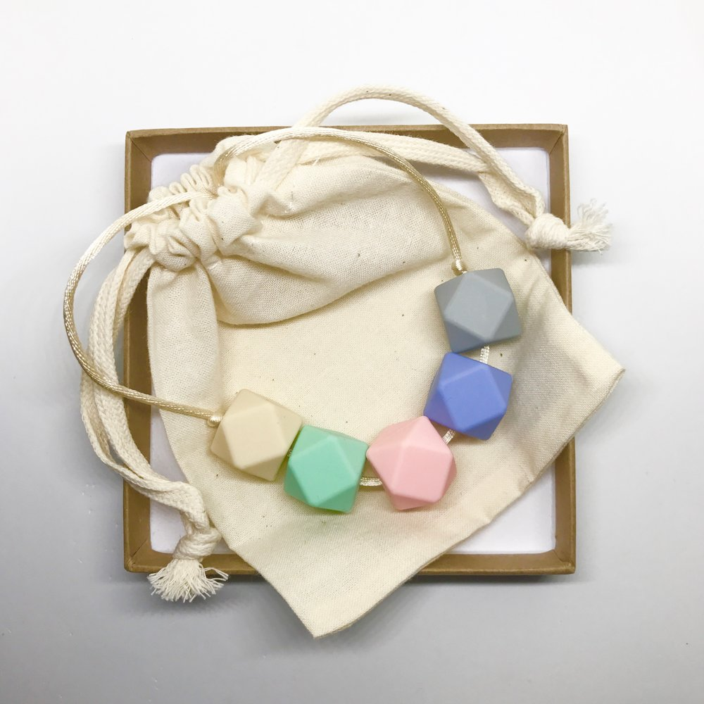 For Mama And Baba - Harriet Pastel Necklace - Baby at the Bank
