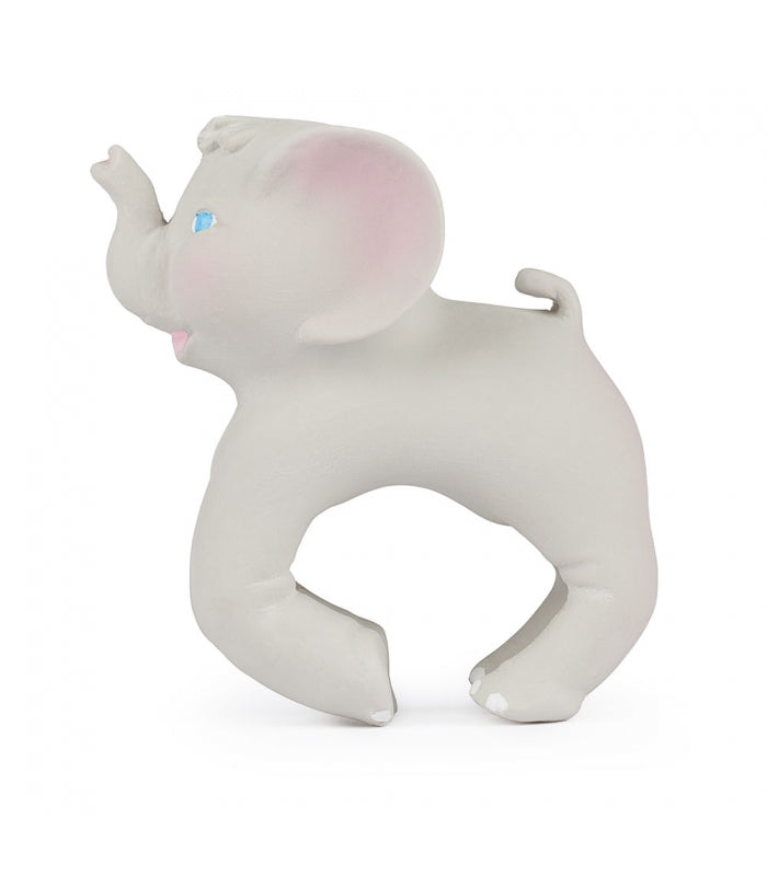 Oli and Carol - Nelly the Elephant Teether Bracelet - Baby at the Bank