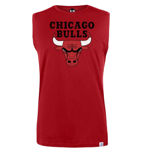 NBA Chicago Bulls Printed Sleeveless T-Shirt