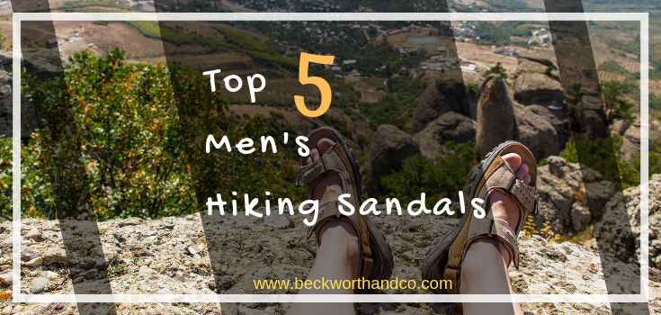Top 5 Men's Hiking Sandals