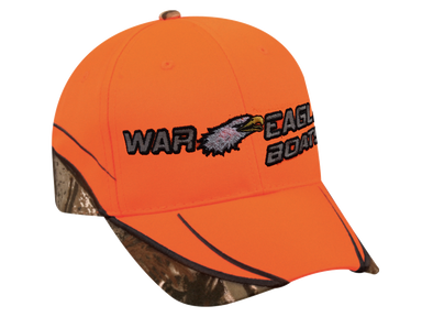 NEW! Blaze Orange & Real Tree Xtra Camo Cap