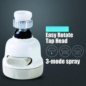 Easy Rotate Tap Head