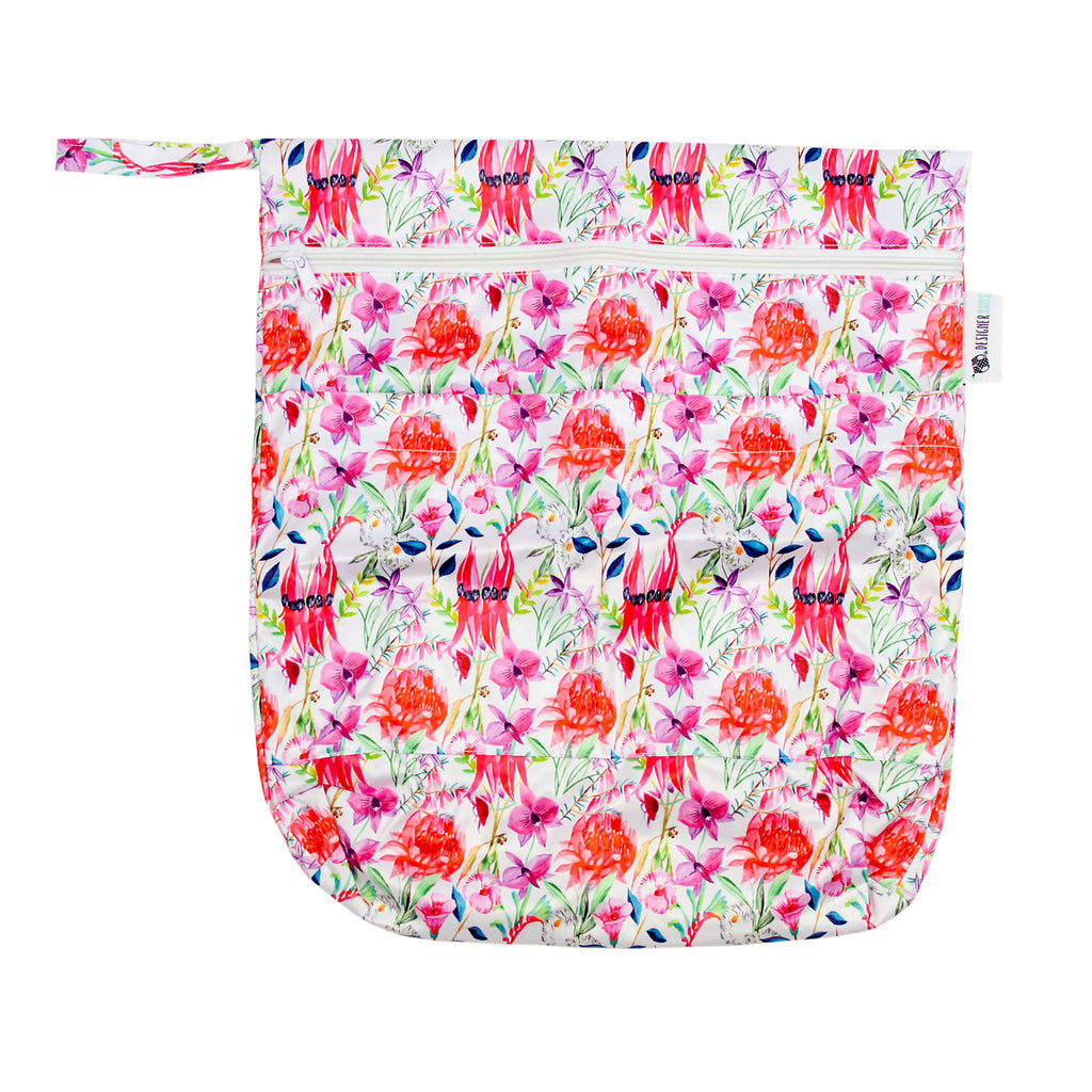 Floral Federation Wet Bag