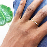 DREAMS 360° Morse Code Mantra® Ring