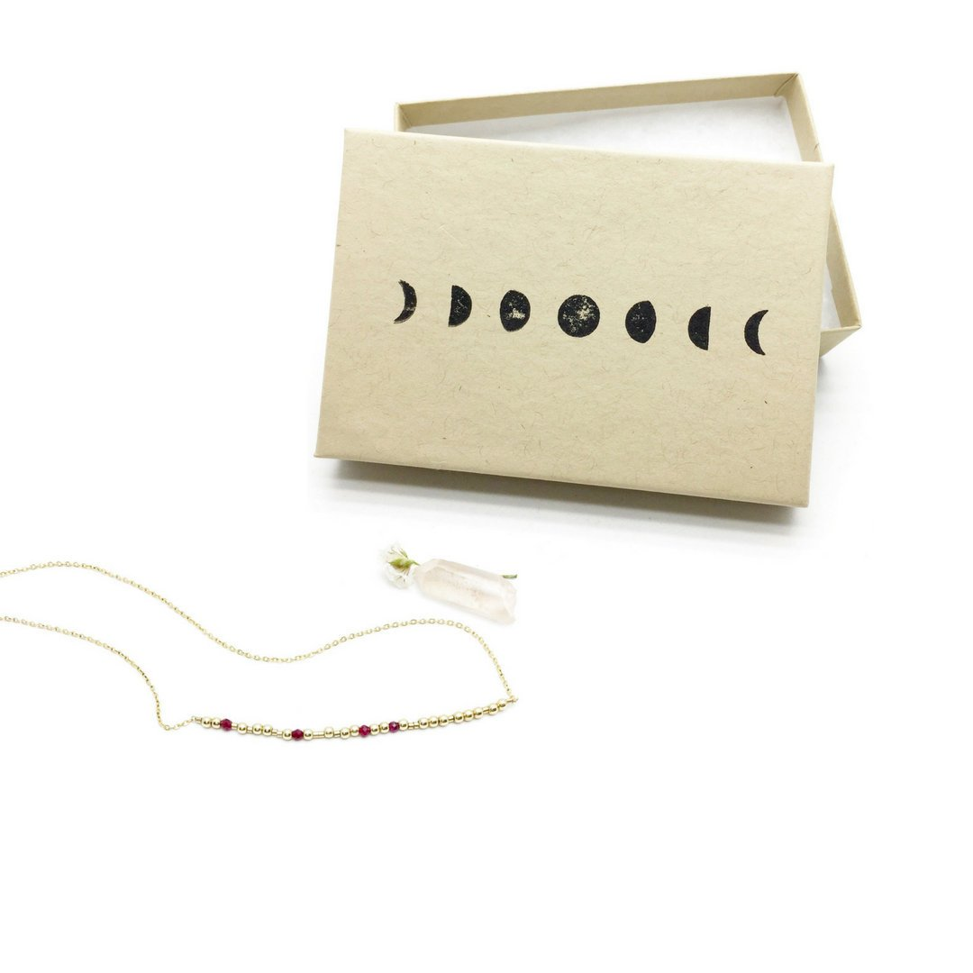 I CAN AND I WILL Morse Code Necklace