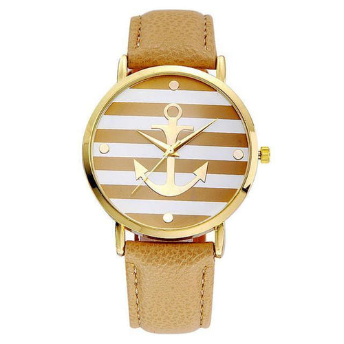 Anchor - Un reloj casual de moda