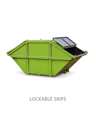 6 Yard Lockable enclosed Skip