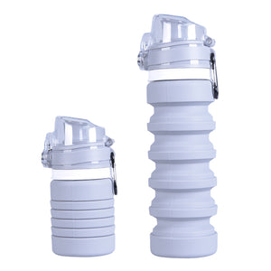 Grey Climate Bottle - Climate Cups - Collapsible Reusable Cups