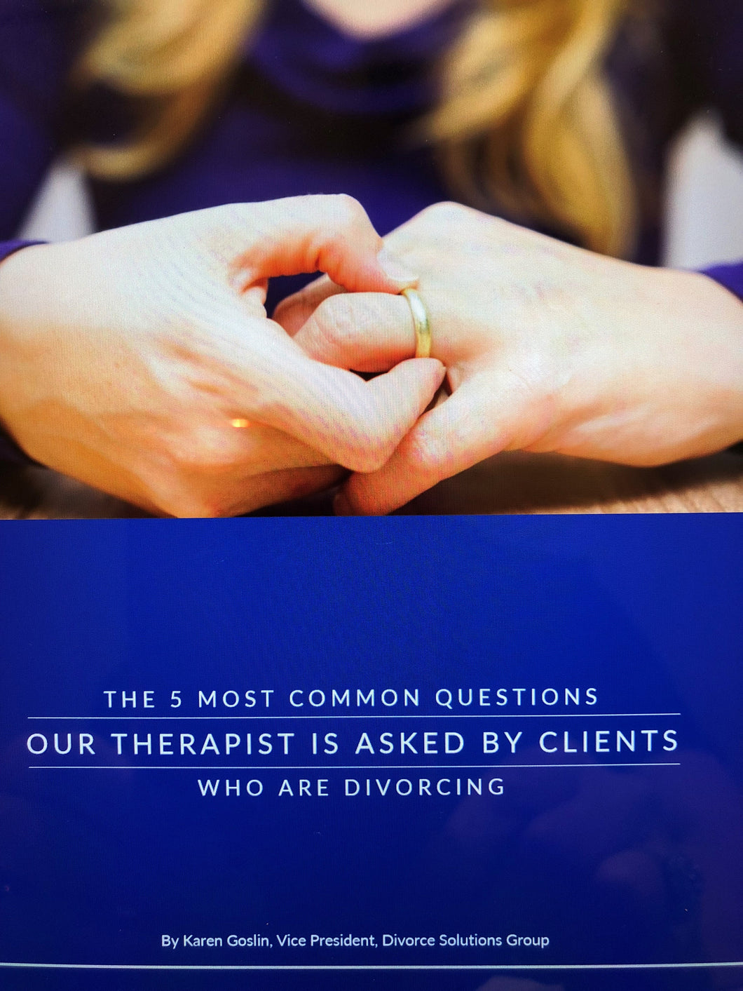 The 5 Most Common Questions Our Therapist is Asked by Clients Who Are Divorcing