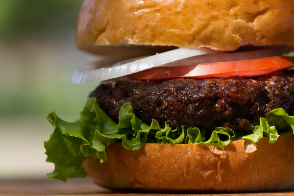Grass-Fed Angus Blended Burger