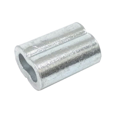 50ea Aluminum Sleeves for Wire Rope 1/4