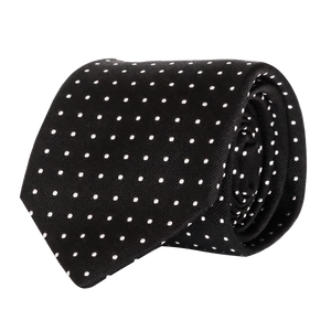 COCHIC - GUISEPPE TIE - REGULAR - BLACK - Cochic - Free shipping