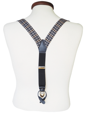 COCHIC - OLD FASHION SUSPENDERS - BROWN - Cochic - Free shipping