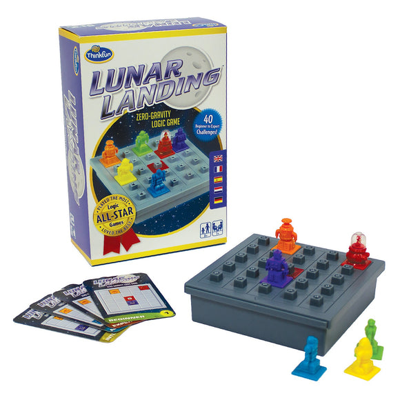 Lunar Landing Thinkfun Educational Games and Puzzles- BibiBuzz