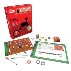 Code - Rover Control Level 2 Thinkfun Coding Games- BibiBuzz