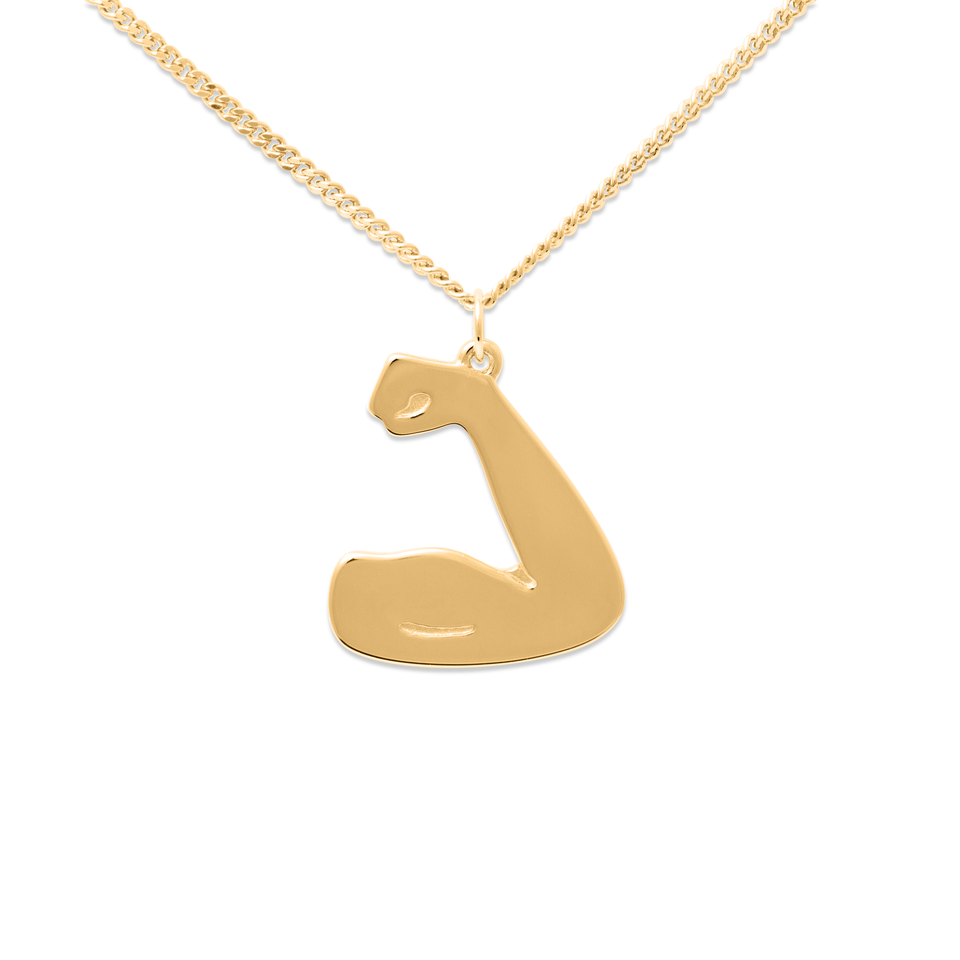 We can do it! Necklace #fff