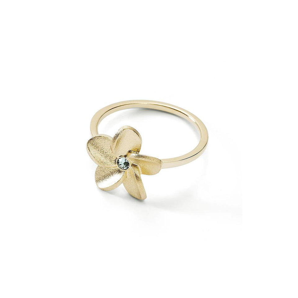 Travel Trinket Frangipani Ring