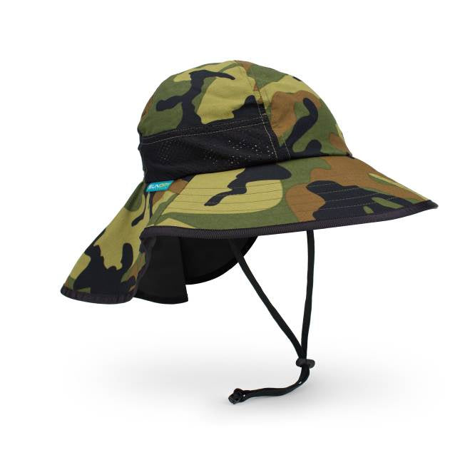 Kids Play: Hat Green Camo