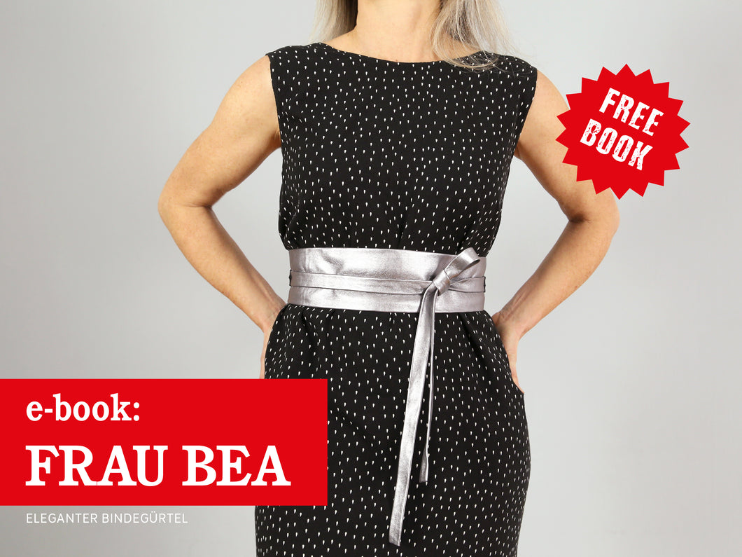 FRAU BEA • eleganter Bindegürtel, freebook