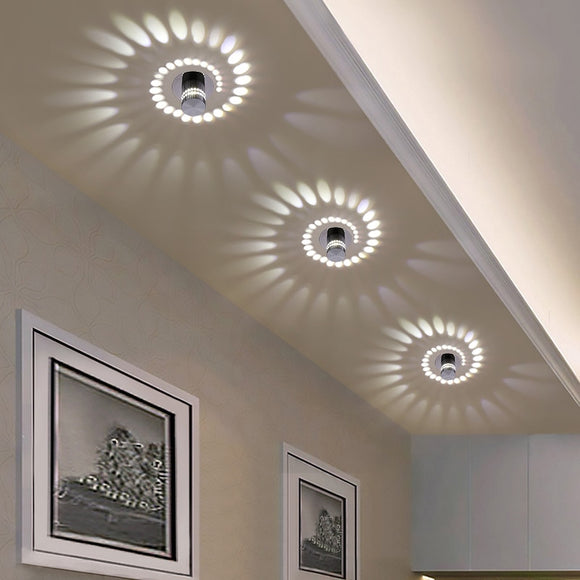 Modern LED Ceiling Light for Art Gallery Decoration