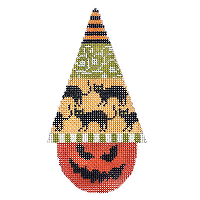 KB 1302 - Halloween Hat - Black Cats