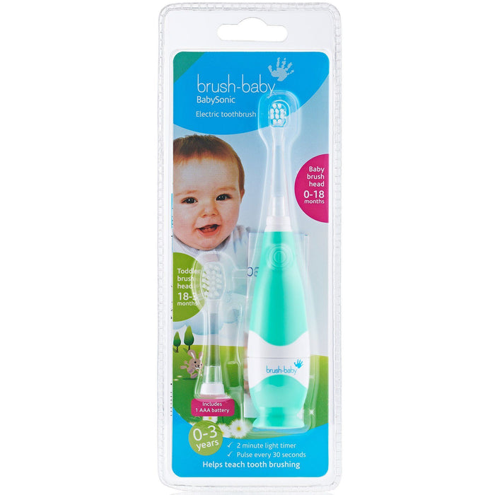 Brush-Baby BabySonic Electric Toothbrush (0-3 years) - Nieboo