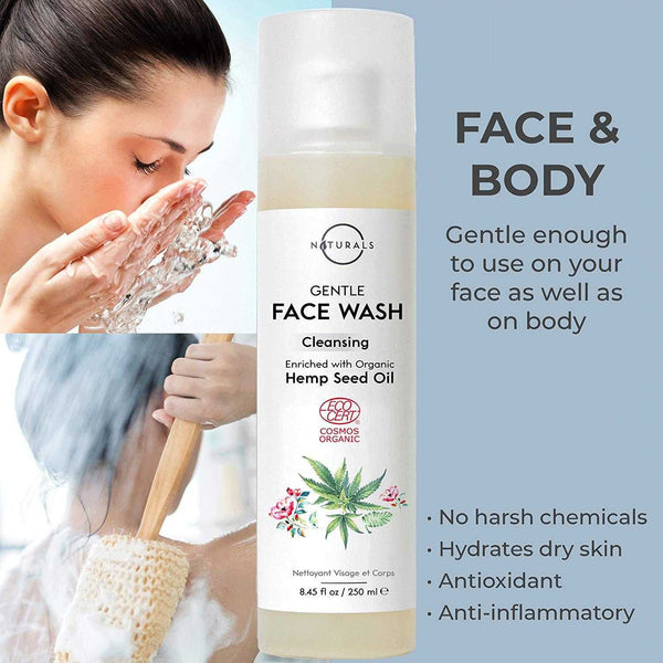 Hemp Gentle Face & Body Wash