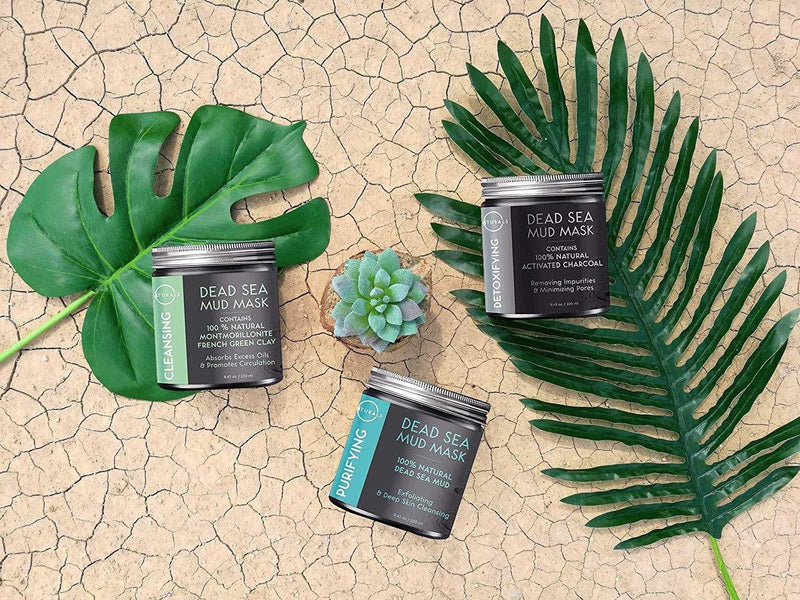 Purifying Dead Sea Mud Mask