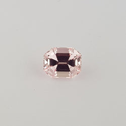 2.24ct Octagon Cut Pink Sapphire Certified Unheated and of Sri Lankan Origin