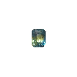 0.84ct Octagon Cut Bi-Colour Sapphire 5.5x4.6mm