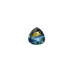 0.96ct Pear Shape Bi-Colour Sapphire 8.5x6.6mm