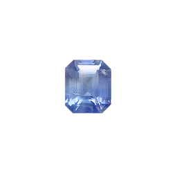 2.10ct Octagon Cut Sapphire Certified Unheated and of Sri Lankan Origin
