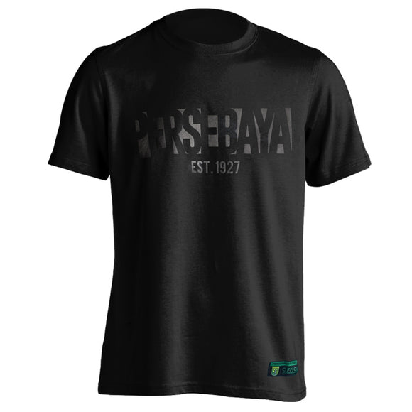 T-shirt Persebaya Black on Black