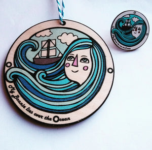 Pin - My Bonnie Lies Over the Ocean