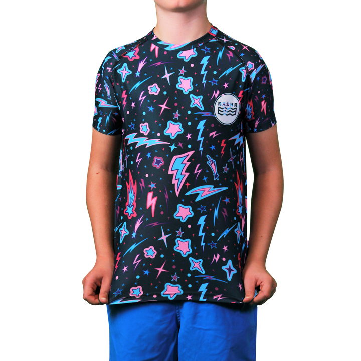 Altair Boys Short Sleeve Rash Vest