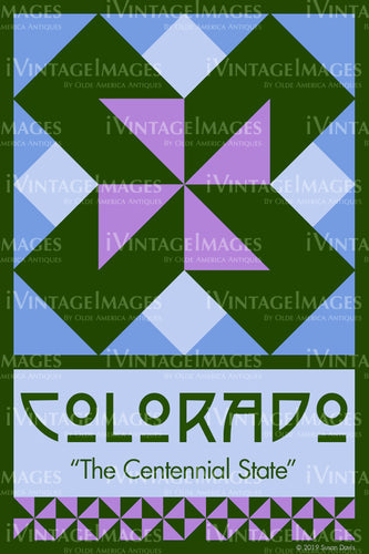 Colorado State Quilt Block Design by Susan Davis - 6