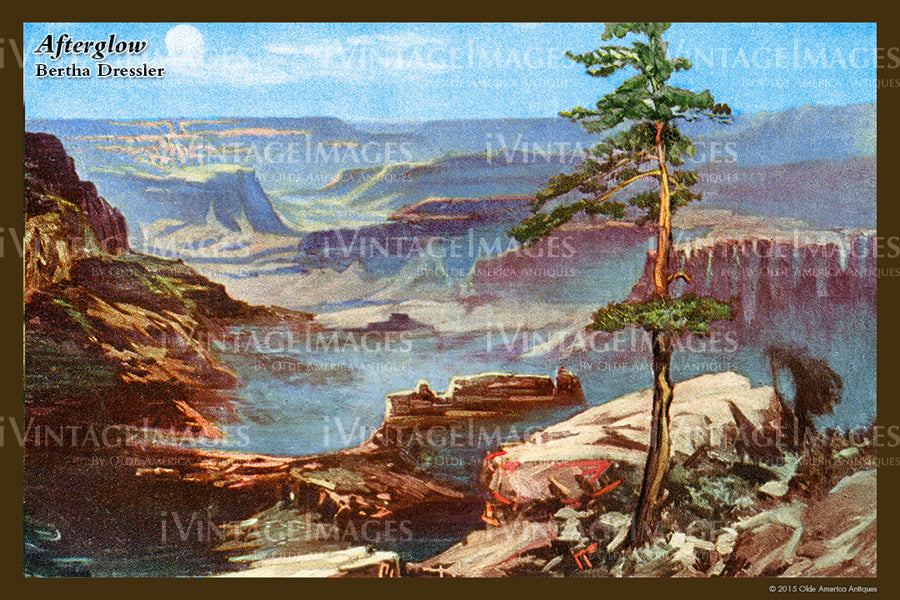 Grand Canyon Painting 1910 - 34