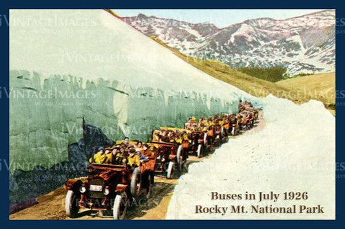 Rocky Mountain Postcard 1926 - 28