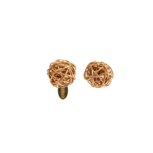 Clementina 09mm Rose Earring